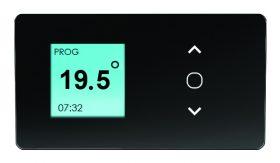 Atlantic F129D elektromos konvektor LCD kijelző