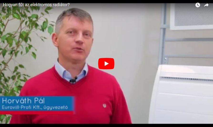 [VIDEÓ] Hogyan fűt az elektromos konvektor?
